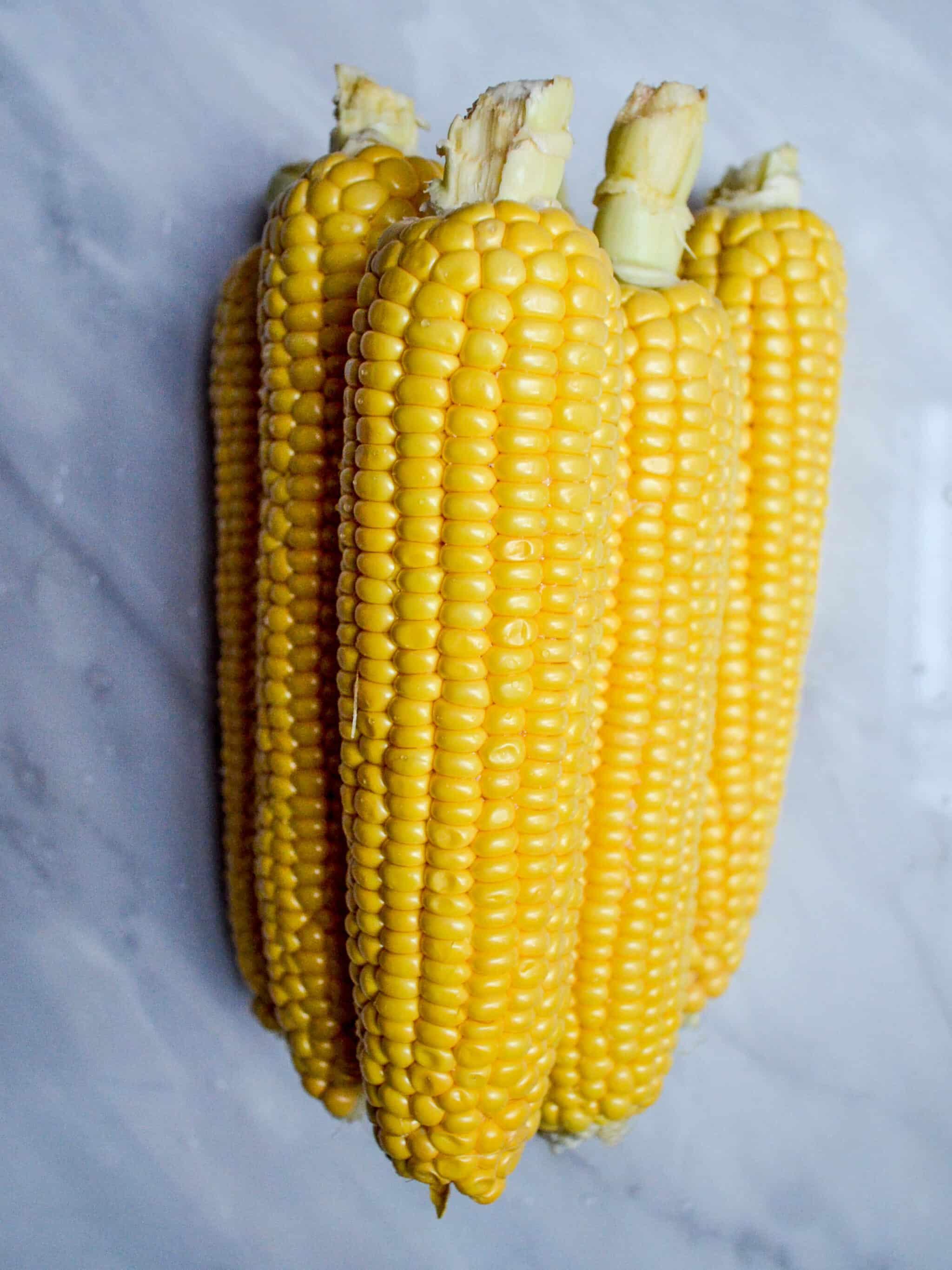 Corn - Corn with harissa and feta - recipe - A kitchen in Istanbul