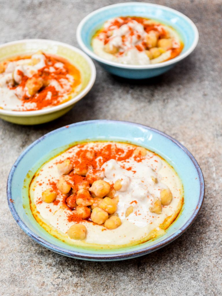 Hummus mashawsha - recipe / A kitchen in Istanbul