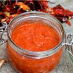 Ajvar - red pepper condiment
