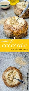 Whole roasted celeriac with olive oil & za'atar - recipe / A kitchen in Istanbul