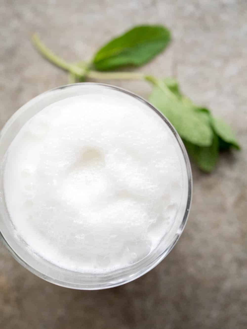 Ayran (Turkish yoghurt drink) - recipe / A kitchen in Istanbul