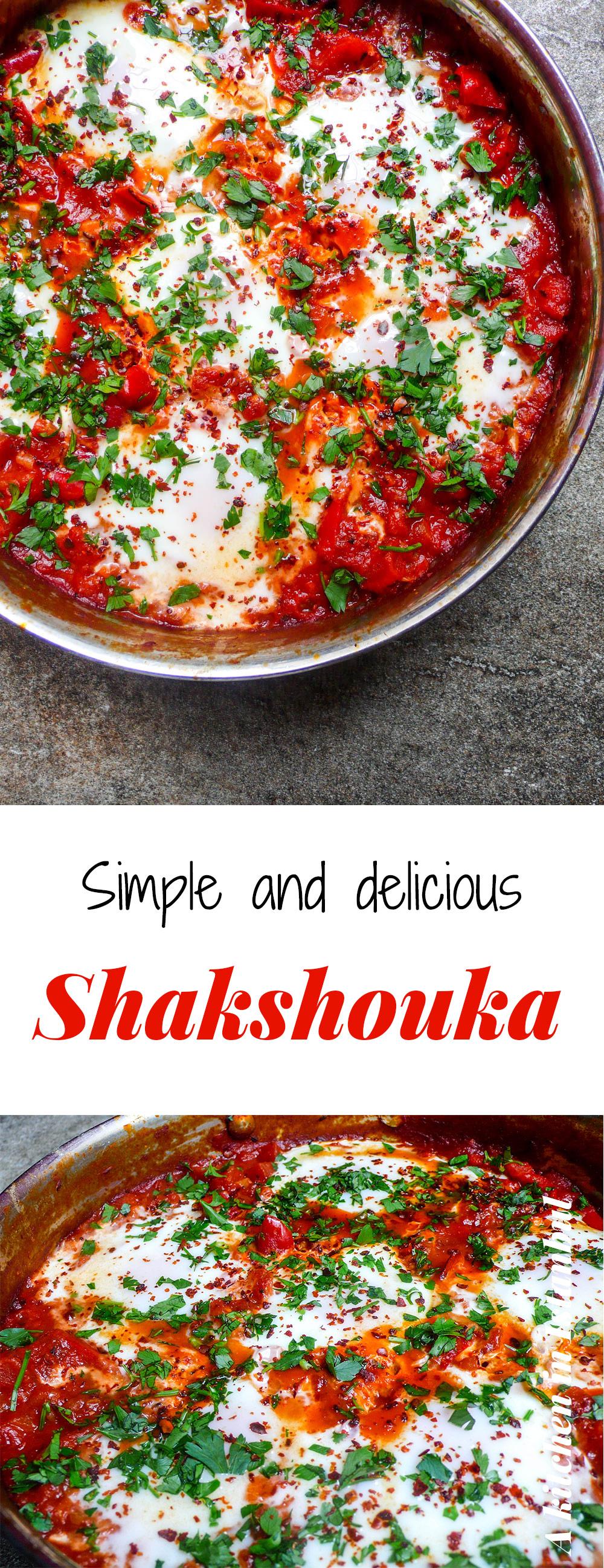 Shakshouka - recipe / A kitchen in Istanbul