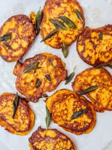 Pumpkin fritters - recipe / A kitchen in Istanbul
