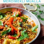 Vegan Turkish lentil stew (Mercimekli mualla) - with photo